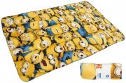 Despicable Me Minions 'Expressions' Panel Fleece Blanket Throw
