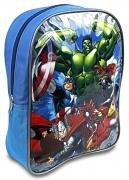 Avengers 'Superheroes' Pvc Front School Bag Rucksack Backpack