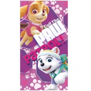 Paw Patrol 'Skye & Everest' Girls Printed Beach Towel