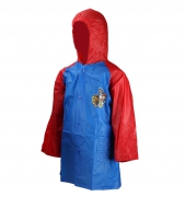 Paw Patrol Blue Kids 2-6 Years Raincoat