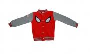 Spiderman Boys 18 Months - 9 Years Baseball Jacket Jumper