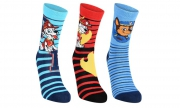 Paw Patrol 3 Pk Socks 12-2.5 Size