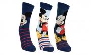 Mickey Mouse 3 Pack Socks Toddler, Junior, teenage EU 23-35
