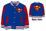 Superman 'Logo' Boys Baseball Jacket Jumper 4-5 Years