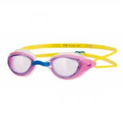 Sonic Air Junior 'Pink & Yellow' Swimming Goggles 6-14 Years Pool