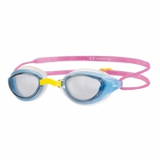 Sonic Air Junior 'Blue & Pink' Swimming Goggles 6-14 Years Pool