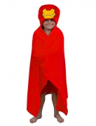 Iron Man Boys One Size Cuddle Robe