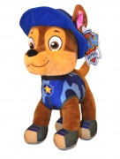 Paw Patrol Jungle Rescue 'Chase' 27cm Plush Soft Toy
