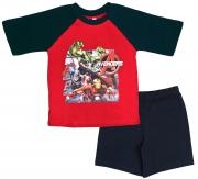 Avengers 'Action' Boys Short Pyjama Set 3-4 Years