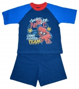 Spiderman 'Crime Fighter' Boys Short Pyjama Set 4-5 Years