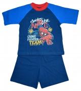 Spiderman 'Crime Fighter' Boys Short Pyjama Set 9-10 Years