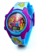 Disney Princess 'Cinderella & Friends' Girls Digital Metal Tin Gift Wrist Watch
