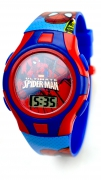 Spiderman 'Action' Boys Digital Metal Tin Gift Wrist Watch