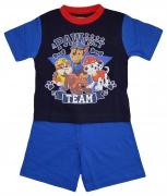 Paw Patrol 'a Pawfect Team' Boys Short Pyjama Set 12 18 Months