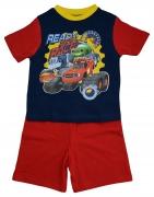 Blaze 'Race' Boys Short Pyjama Set 3-4 Years