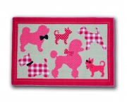 Designer Mat 'Puppies' Kids Rug