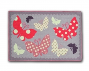 Designer Mat 'Butterfly' Kids Rug