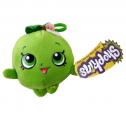 Shopkins 'Apple Blossom' Hanging Plush Backpack Clip School Bag Rucksack