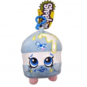 Shopkins 'Spilt Milk' Hanging Plush Backpack Clip School Bag Rucksack