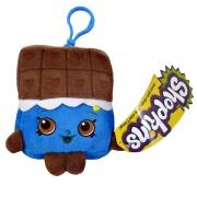 Shopkins 'Cheeky Chocolate' Hanging Plush Backpack Clip School Bag Rucksack