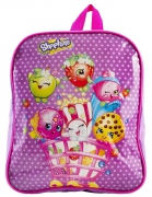 Shopkins 'Purple' Pvc Front School Bag Rucksack Backpack