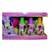 Disney Minnie Mouse 'Pretty' 7 Piece Bowling Set Toy