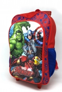 Marvel Avengers Luggage Deluxe School Travel Trolley Roller Wheeled Bag