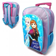 Disney Frozen Luggage Deluxe School Travel Trolley Roller Wheeled Bag