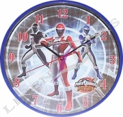 Power Rangers Operation Overdrive Wall Clock