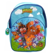 Moshi Monsters Blue School Bag Rucksack Backpack